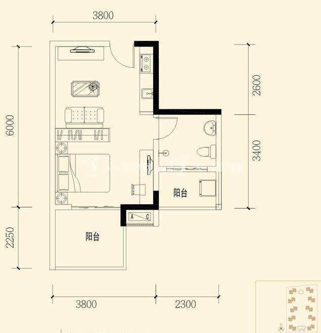 衍宏春天建筑面积:39.47㎡ 一室一厅一卫.jpg