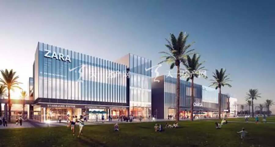 珠海富力优派广场效果图