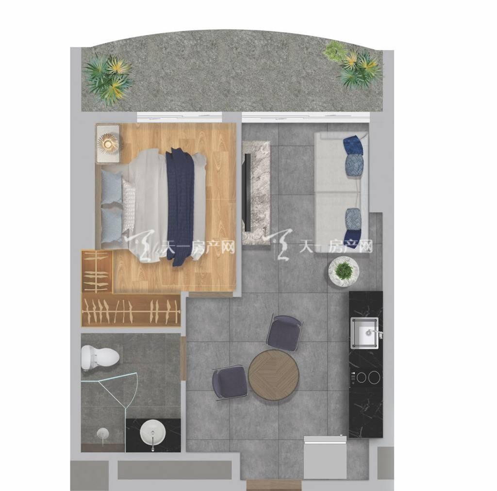 盈达金汇MESONG建筑面积47-57平一房,精致实用,大阳台.jpg