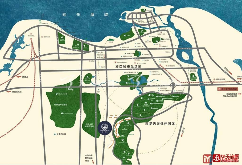 观澜湖君悦公馆交通图.jpg