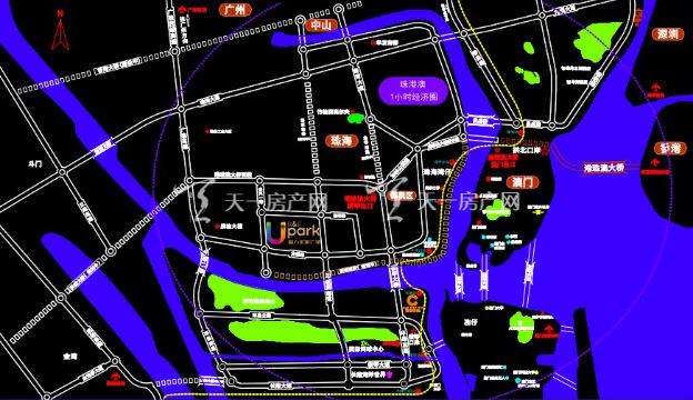 珠海富力优派广场区域图.jpg