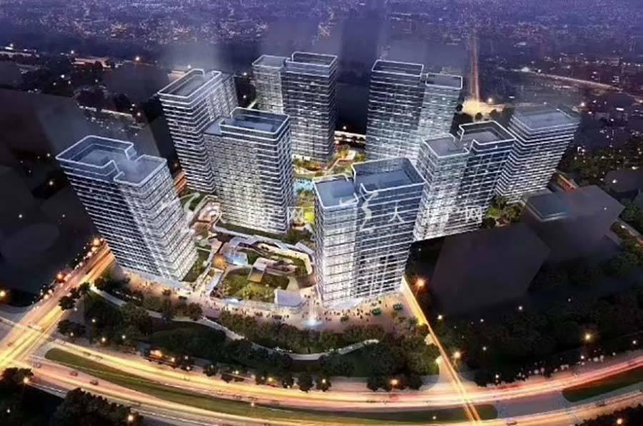 珠海泰禾中央广场效果图