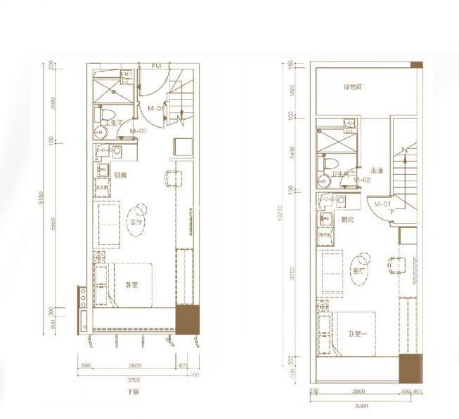 东基童梦天下A1 40㎡ 3室2厅2卫2厨