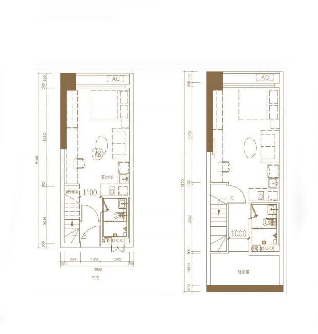 东基童梦天下A2 37㎡ 3室2厅2卫2厨