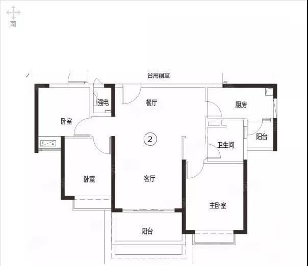 恒大山水龙盘103-114㎡3室2厅1卫