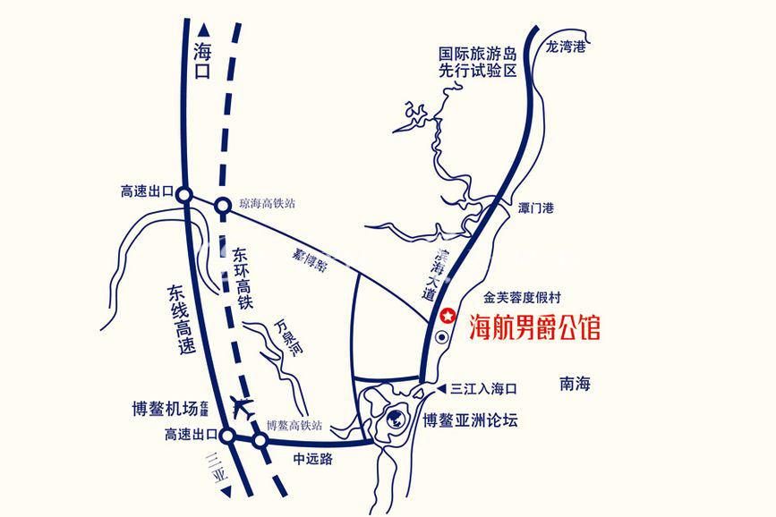 海航男爵公馆交通图1.jpg