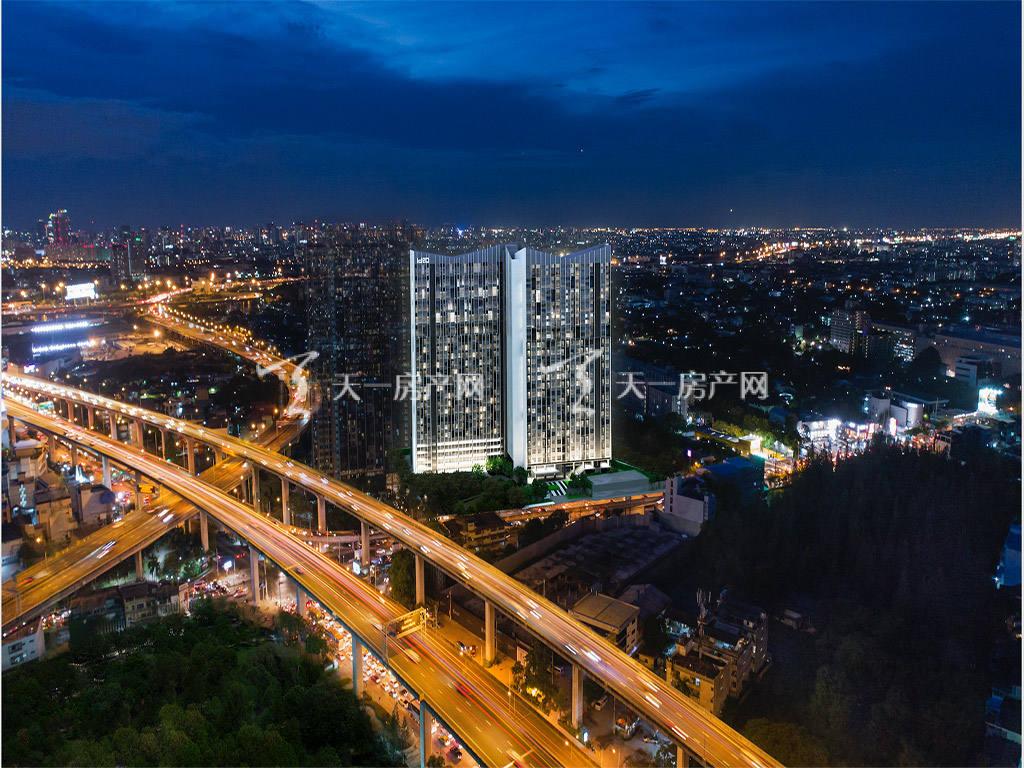 泰国曼谷-Ideo-New-Rama-9-效果图-(1).j