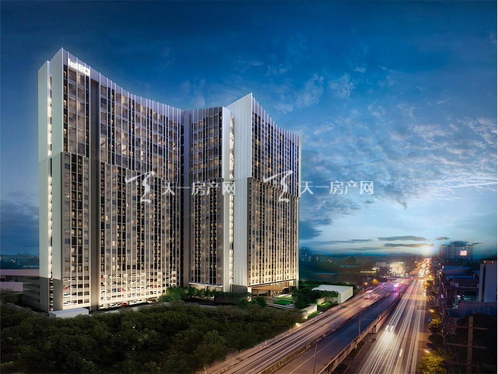 泰国曼谷-Ideo-New-Rama-9-效果图-(2).j