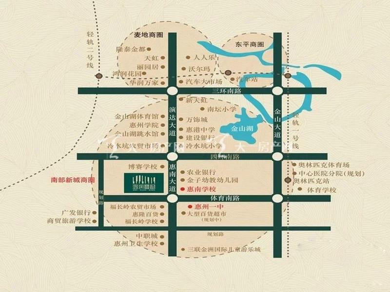 鸿润天和雅筑交通图.jpg