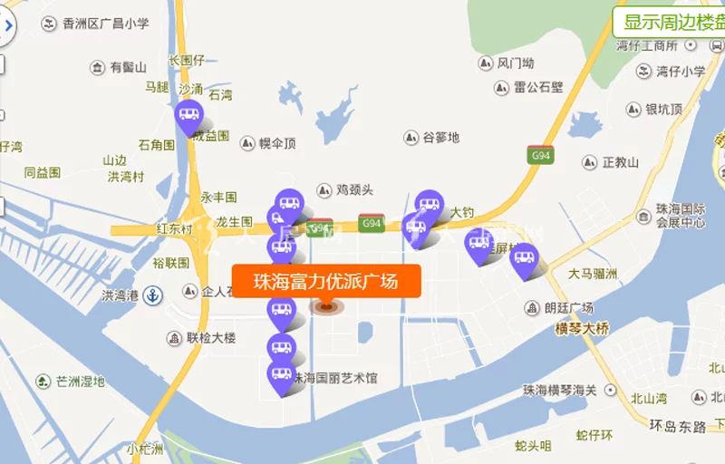 珠海富力优派广场交通图.jpg