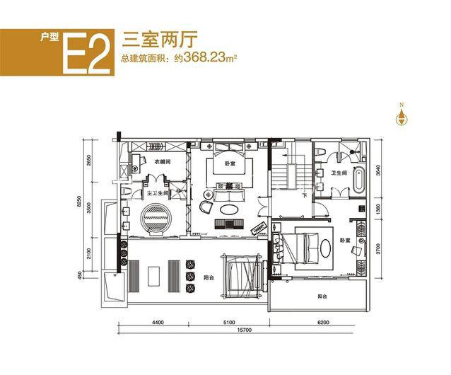 中海神州半岛 E2户型三室两厅-约368.23平方米.jpg