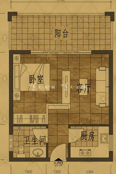 清澜茗都 E户型 1房1厅 44.66㎡.jpg
