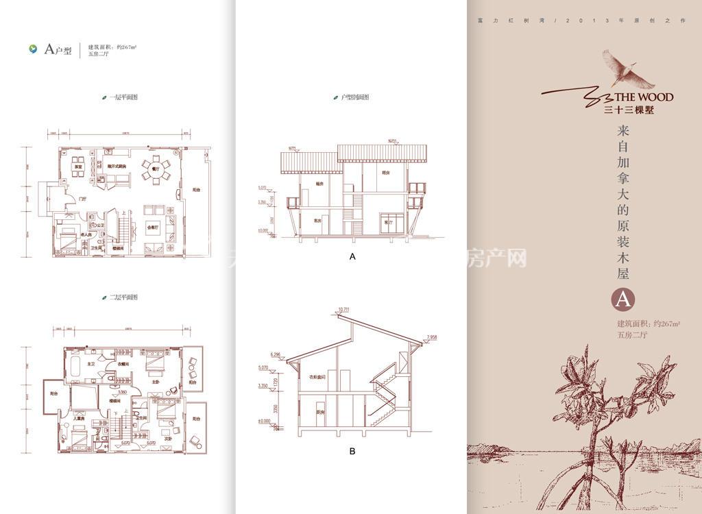 富力红树湾 三十三棵墅看房卡-A户型267㎡.jpg