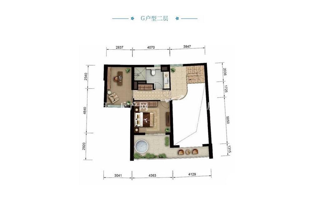 Aloha阿罗哈Aloha阿罗哈海景公寓G1室1厅0厨1卫建筑面积86.51