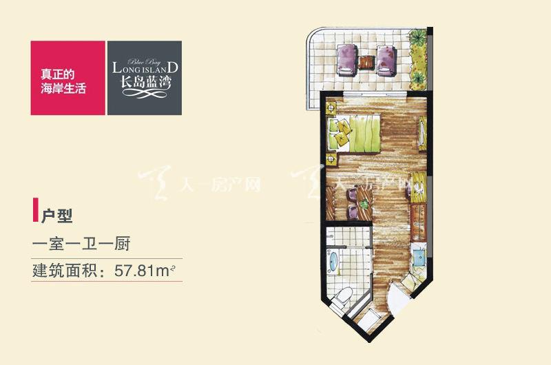 长岛蓝湾I户型-1房1卫1厨-57.81㎡.jpg