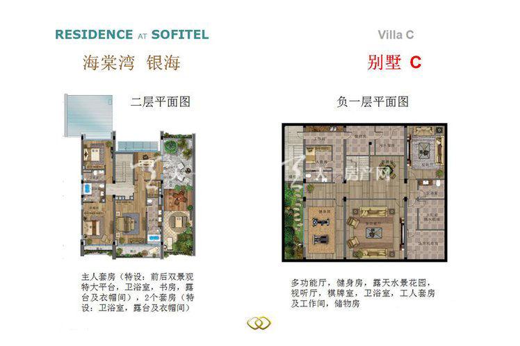 海棠湾银海 5室4厅7卫1厨419平米
