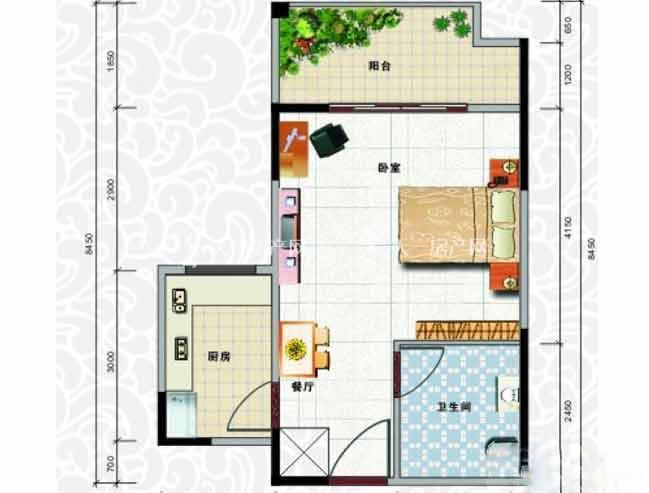 天龙佳园 1室1厅1卫2厨建筑面积44.41㎡.jpg