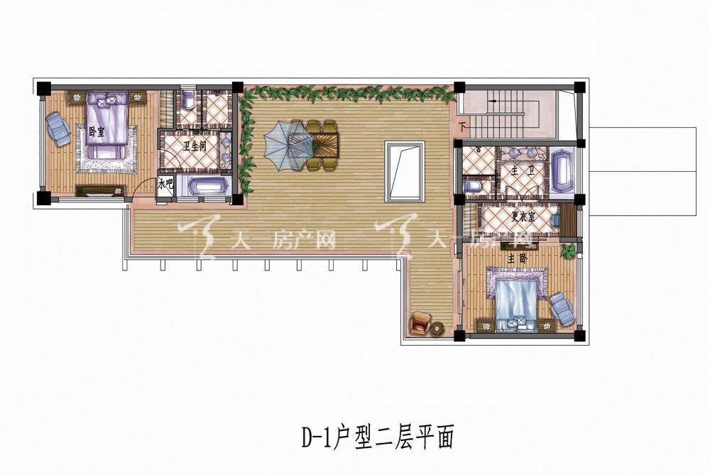 中铁诺德丽湖半岛D-1#4室2厅1厨1卫147.04㎡