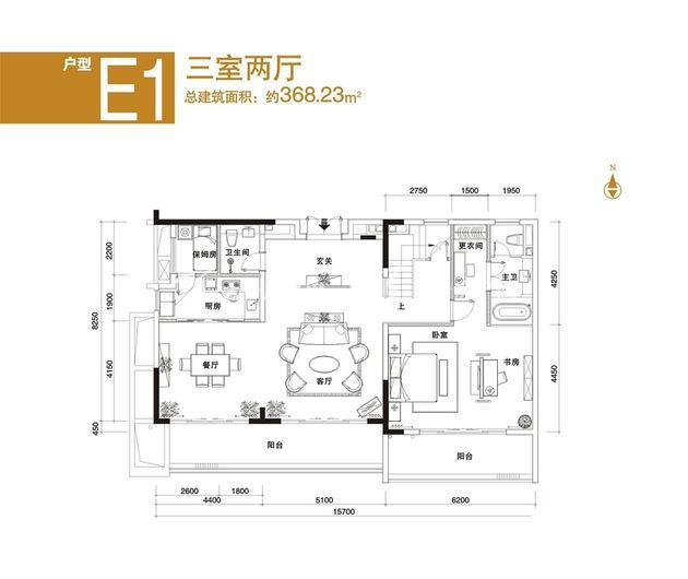 中海神州半岛 E1户型三室两厅-约368.23平方米.jpg