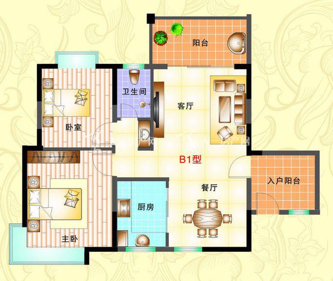 榆海万泉河畔 2室2厅1厨1卫85.95㎡.jpg