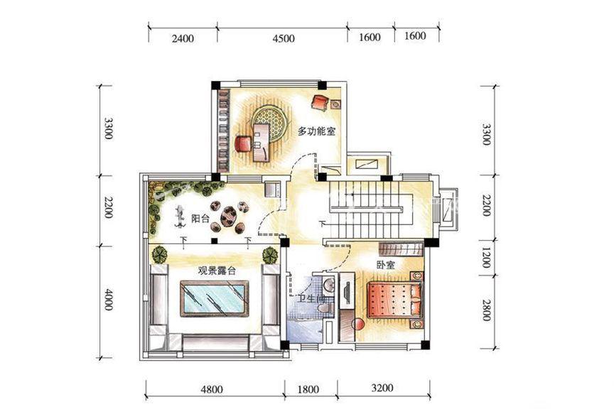 碧桂园金沙滩双拼G185户型三层5室2厅1厨4卫262.71㎡.jpg