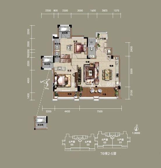 中海神州半岛 2室2厅1厨1卫146㎡.jpg