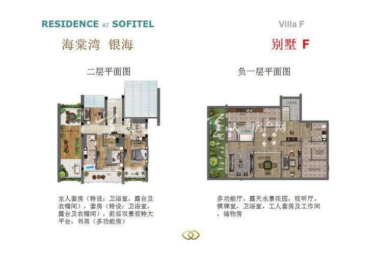 海棠湾银海 3室4厅5卫1厨302平米