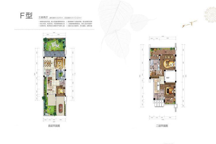 雅居乐西双林语 别墅F户型-3室2厅1卫.jpg