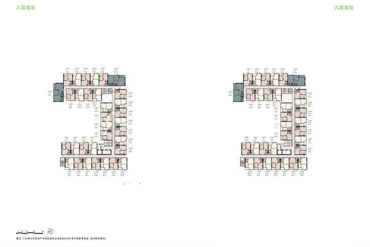 普吉市镇Base Height高层公寓 户型平面图一居34㎡两居57㎡(8).jpg
