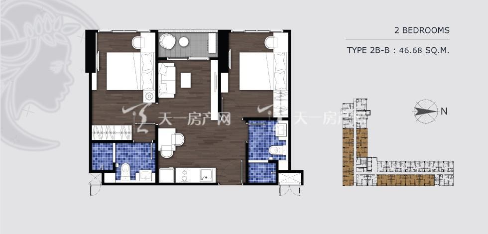曼谷月盈新苑 2B-B 两室两卫 46.68㎡.jpg