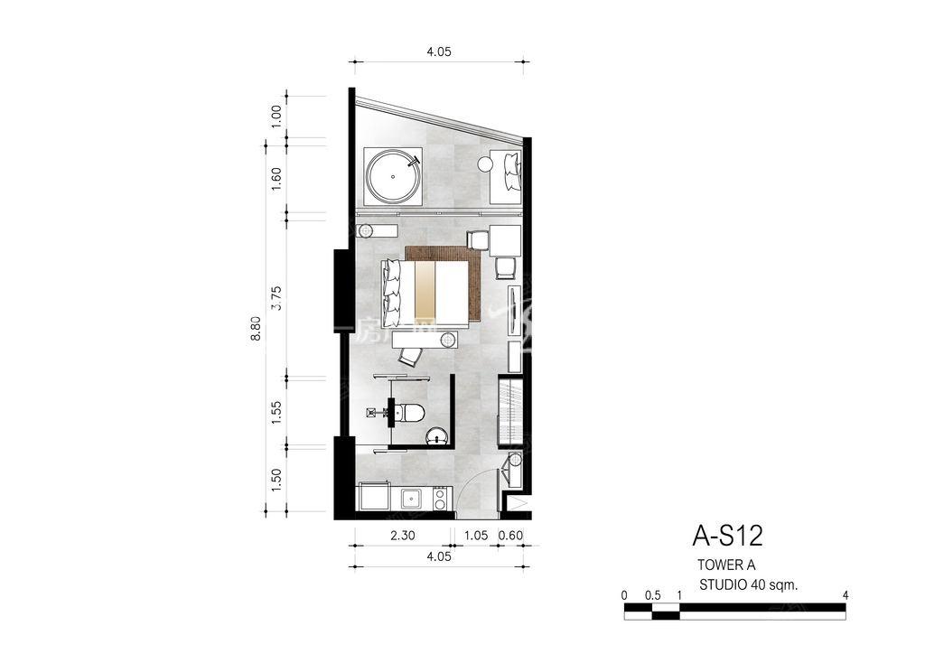 芭提雅第六境 A-S12一室一卫约40㎡.jpg