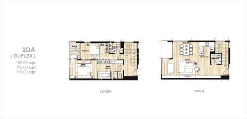 普吉岛Mai Khao海景公寓 平面户型图三居室109-119㎡.jpg