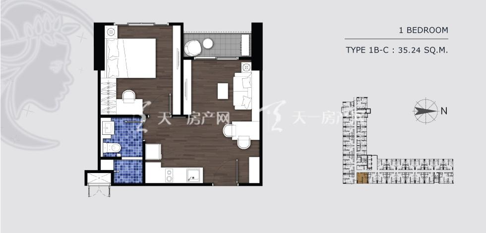 曼谷月盈新苑 1B-C 一室一卫 35.24㎡.jpg