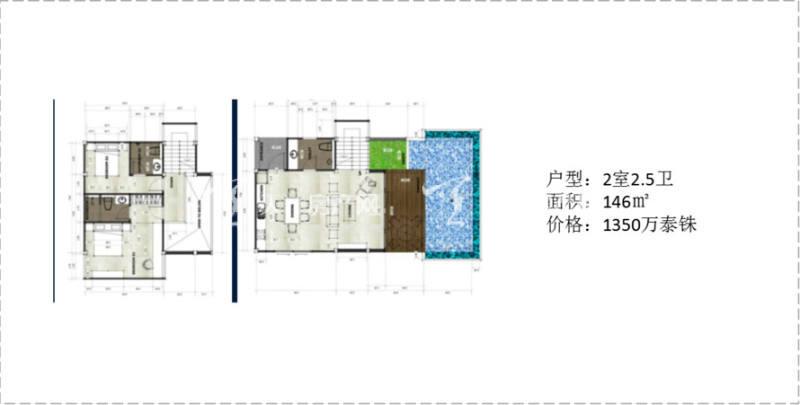 泰国普吉岛UTN项目 泰国普吉岛UTN项目  2室2卫 146㎡.jpg