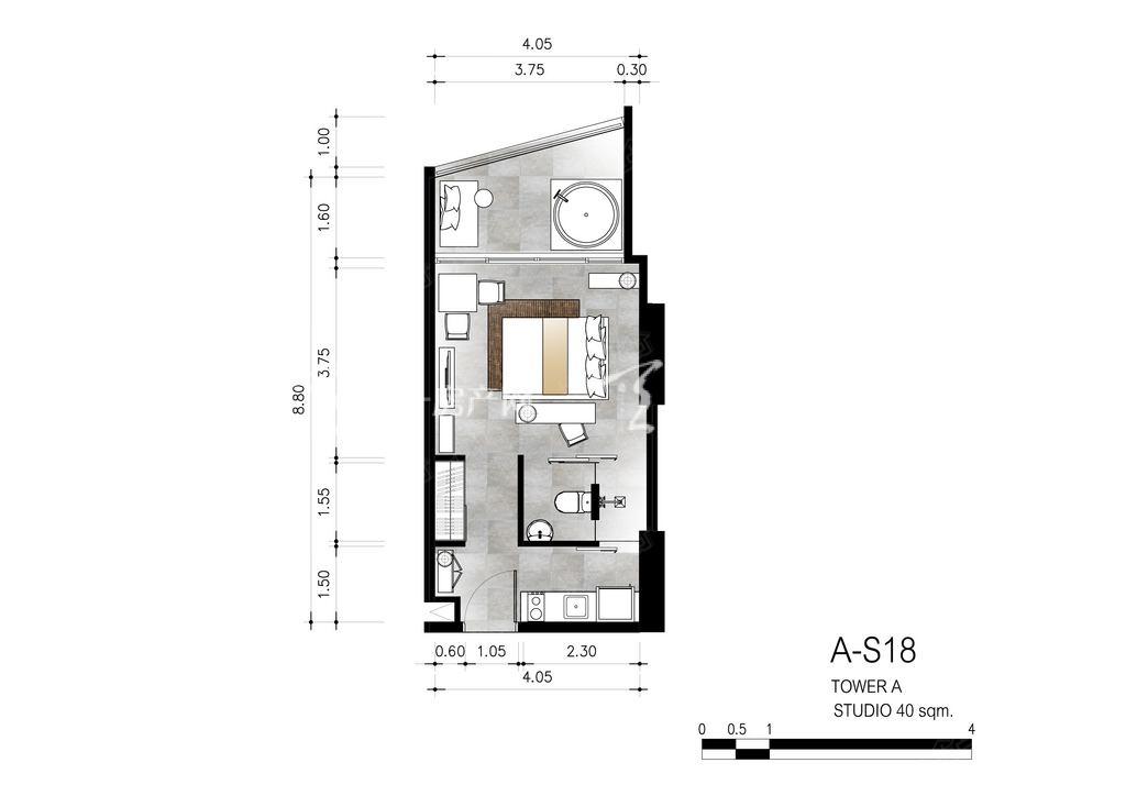 芭提雅第六境 A-S18一室一卫约40㎡.jpg