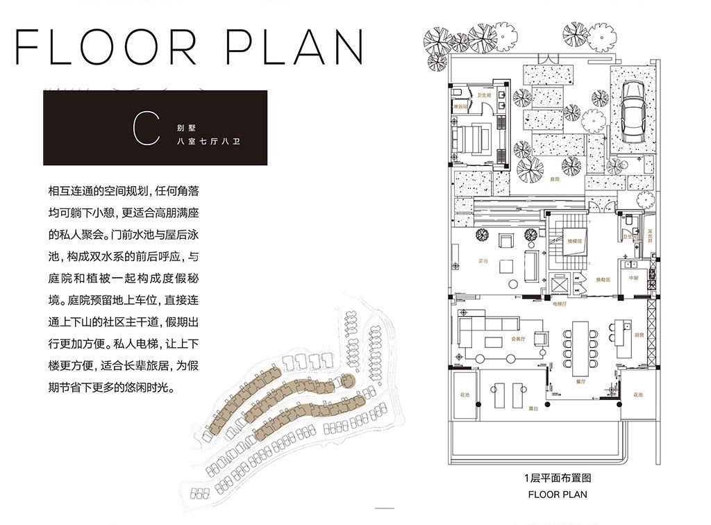 融创钻石海岸别墅C户型1层8室7厅8卫.jpg