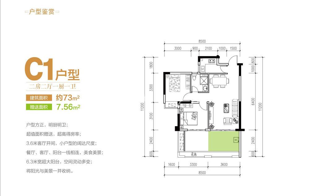爱克养生谷2室2厅73平米.jpg