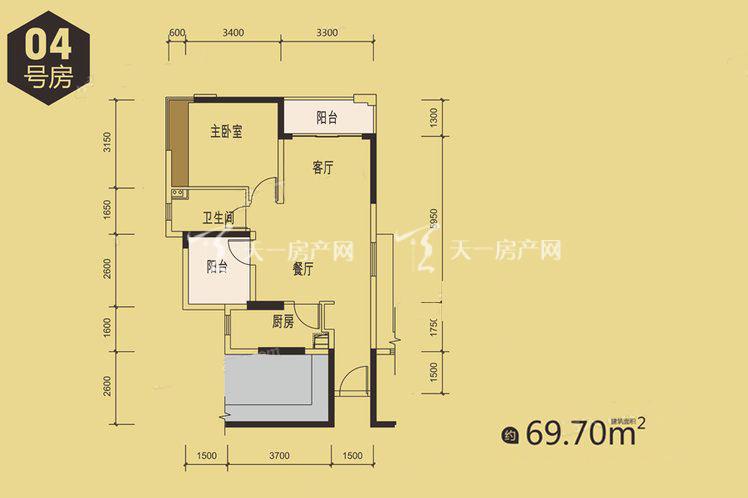 金地天润自在城1栋04户型居室:2室2厅1卫1厨建筑面积:69.00㎡.jpg